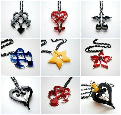 Kingdom Hearts Most Popular Jewelry