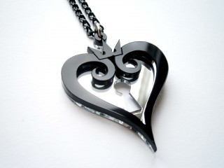 Kingdom Hearts Black Necklace