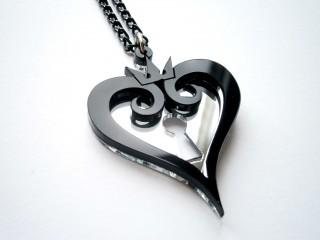 Kingdom Hearts Black Necklace