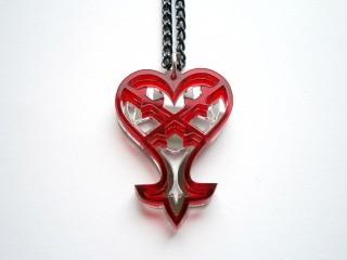 Kingdom Hearts Heartless Necklace