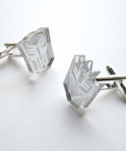 Transformers megatron and autobot cuff links
