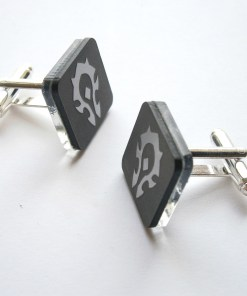 Horde Cuff links WOW cufflinks