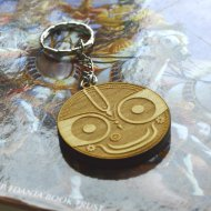 Jagannath Wooden Keychain