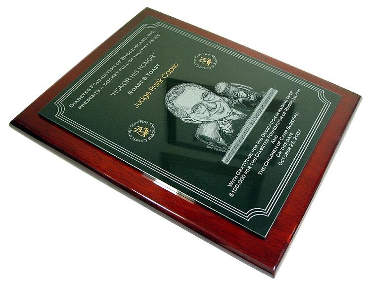 Granite Amp Rosewood Memorial Plaques
