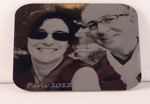 Acrylic Photo Engraving