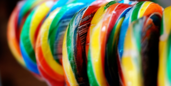 Circle of Lollipops