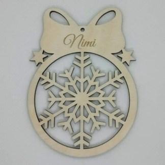 jõuluehe Lumehelves