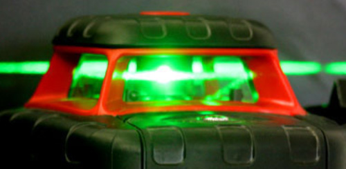 Rotating Laser red or green lasers which is best