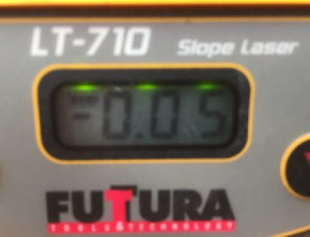 Futtura LT-710 calibration display