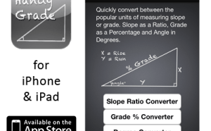Handy Grade Converter App for iPhone & iPad