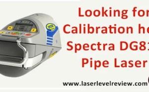 Spectra Precision Trible DG813 Pipe Laser