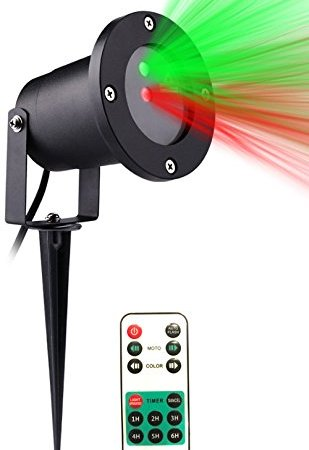 2018 upgraded christmas laser lights outdoor projector lights with 2018 upgraded christmas laser lights outdoor projector lights with remote control by fashion teddy ip65 waterproofred and green laser light show garden mozeypictures Images