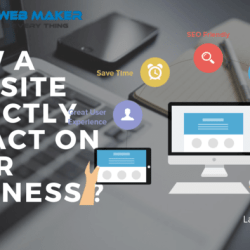 how a website directly impact on your business
