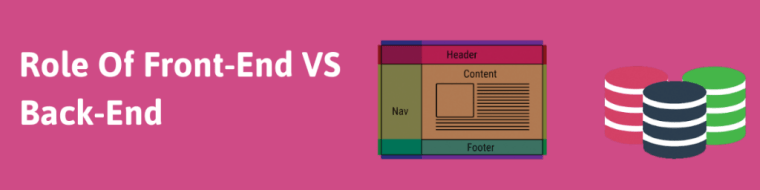 Role Of Front-end Verses Back-end