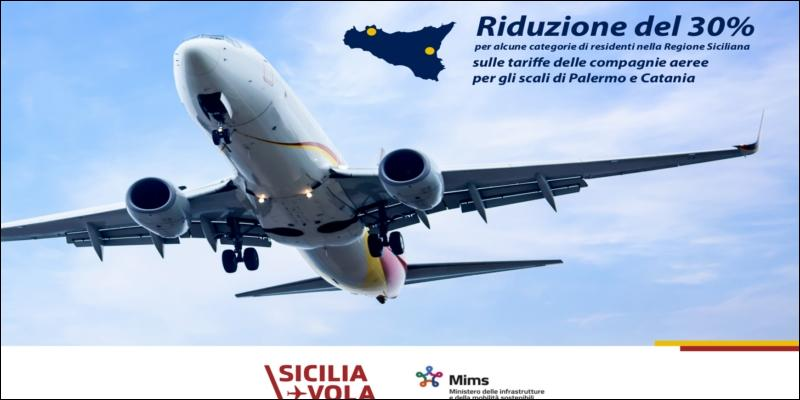 SiciliaVola, sconti a fuorisede e categorie deboli - lasiciliaweb