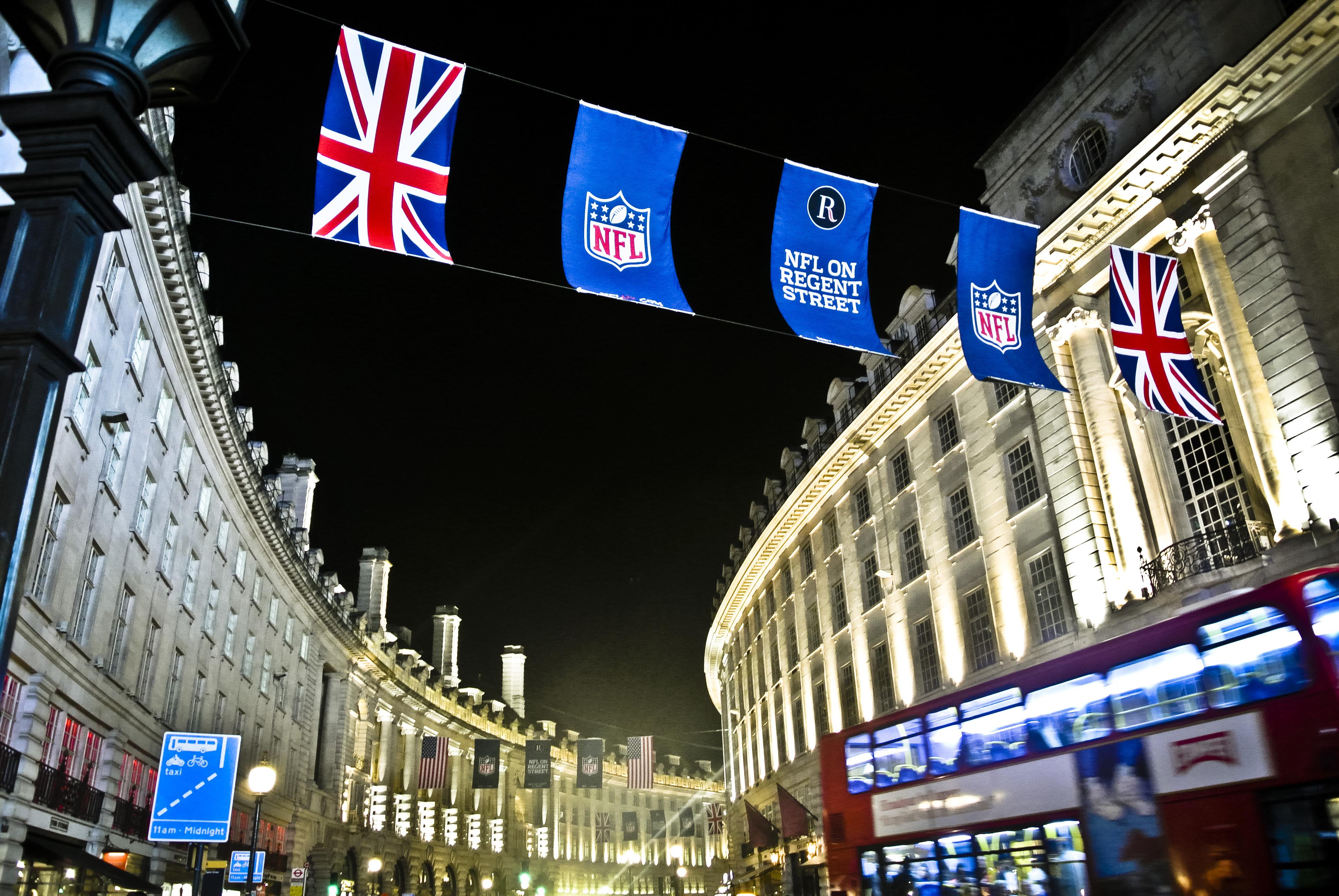 Cómo se vive la NFL en Londres