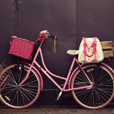 À bicyclette…