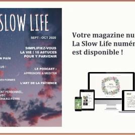 LA SLOW LIFE – votre magazine numérique n°3