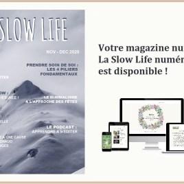 LA SLOW LIFE – votre magazine numérique n°4