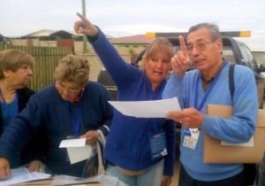 Identificando sectores en El Tabo