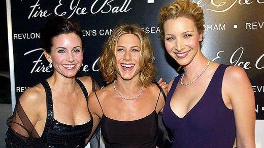 Courteney Cox, Jennifer Aniston & Lisa Kudrow