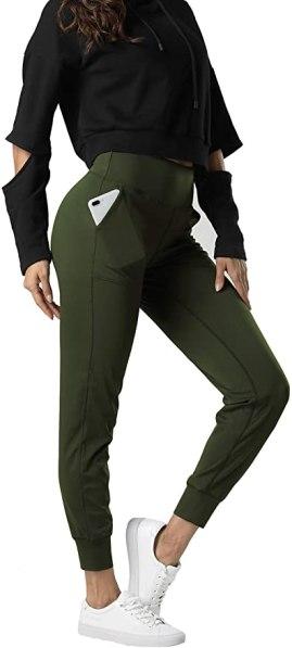 leggings verdes