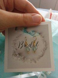 La soeur de la mariée - Blog mariage - Boucles d'oreille Enze Bridal