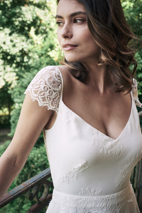 Robe de mariée Mathilde Marie - Collection 2017 - La Soeur de la Mariée Blog Mariage