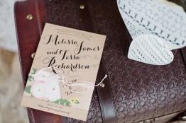 Faire-part de mariage rustique
