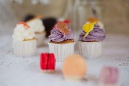 Cupcake violet lavande