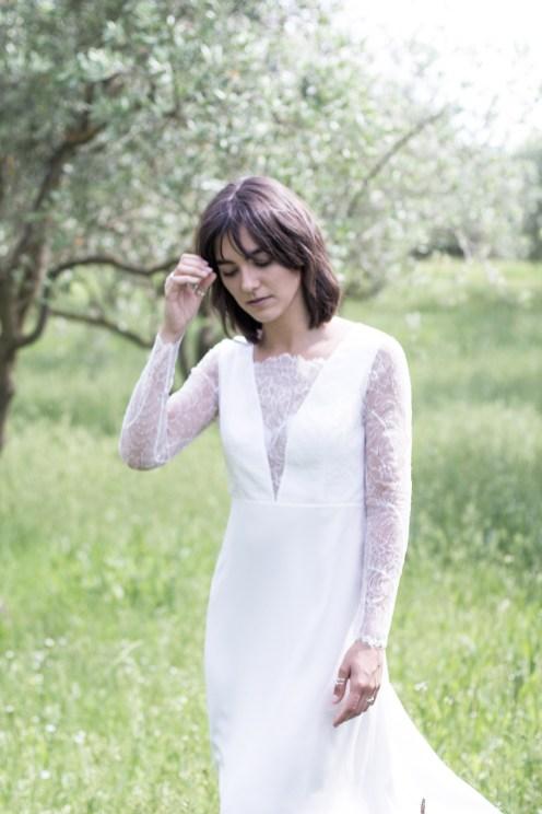 Robe de mariée Ana - Jeanne Source