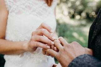passage de l'anneau au doigt