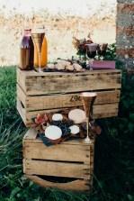 décoration de mariage dans les vignes