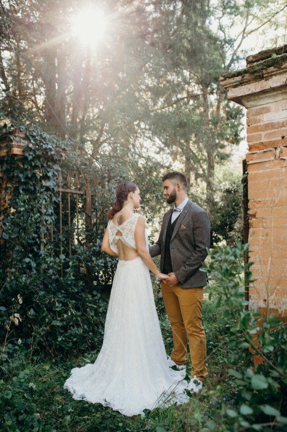 mariage au coeur de la nature sauvage