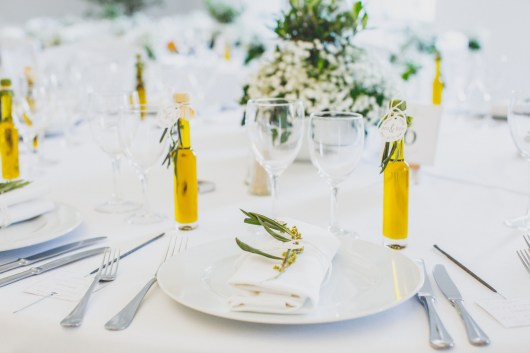 Décoration de table chic et provençale