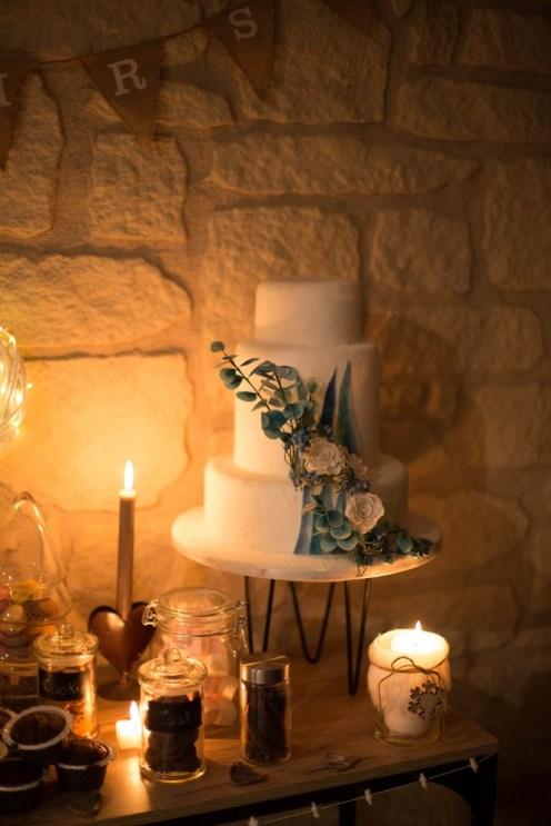 Wedding Cake sur le thème de l'hiver