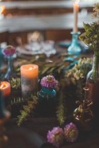 Détail d'une table de mariage