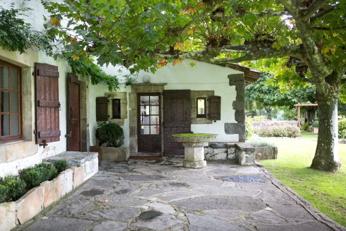 Maison typique du Pays Basque
