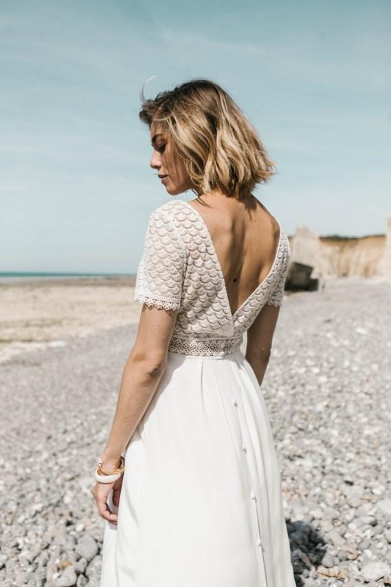 Lorafolk Collection 2019 Robe de mariée Joséphine
