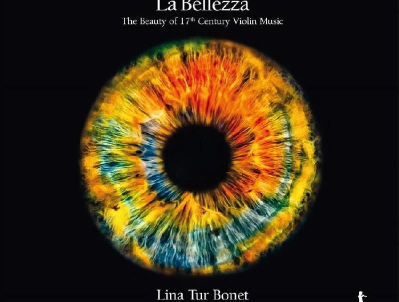 """Portada del disco """"La Bellezza"""" de Lina Tur"""