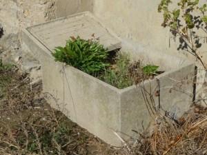 Lavadero de cemento