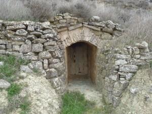 Entrada a bodega de Las Pedrosas
