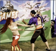 Fairy Tail cosplayers
