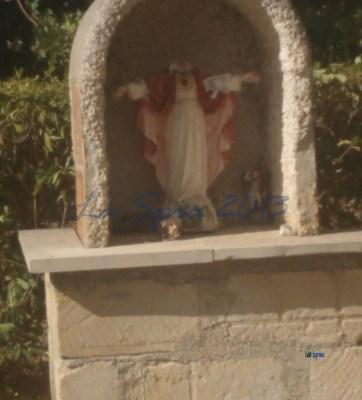 modica, statuetta  cristo decapitata