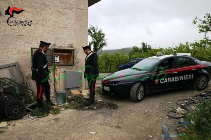 Rapine a Chiaramonte Gulfi arrestati due catanesi