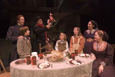 Image result for a christmas carol cratchit family