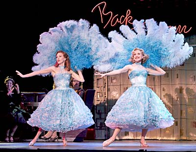 irving berlin s white christmas now at the pantages splash - White Christmas Sisters