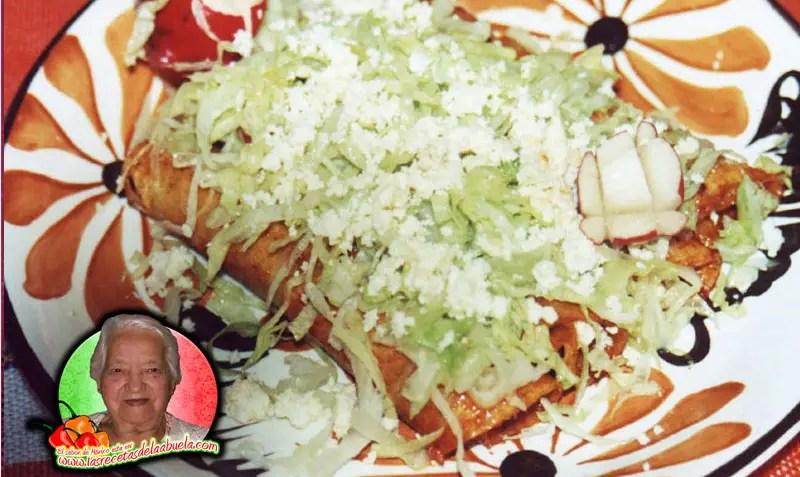 Enchiladas rojas recetas de cocina mexicana de la abuela for Tipos de encielados