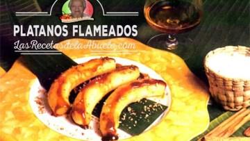 Plátanos Flameados