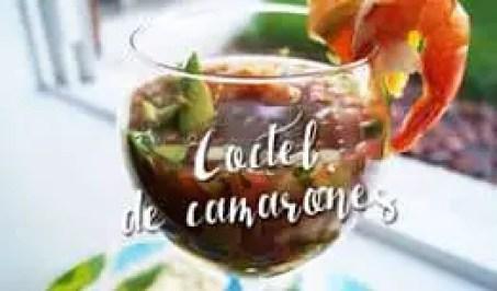 Coctel de Camaron   Las Recetas de Laura